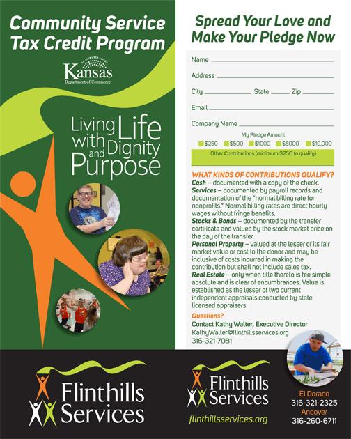Flinthills Services Tax Credit Program Brochure